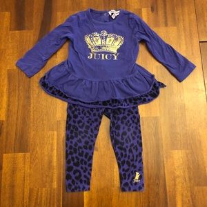 Juicy Couture Toddler Outfit
